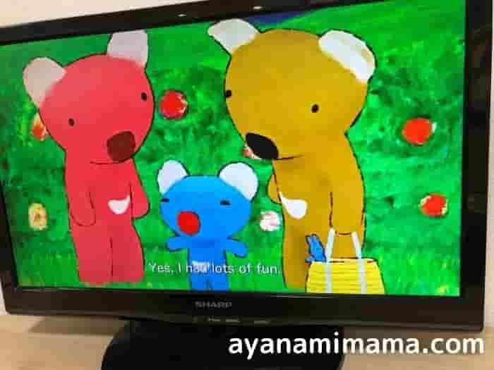 幼児の英語学習にフランスの絵本原作の幼児英語教材うっかりペネロペpenelope for kids英語DVDがアニメでオススメ